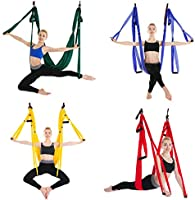 JINPENGRAN Yoga Aéreo, Hamaca, Columpio De Yoga, Hamaca De ...