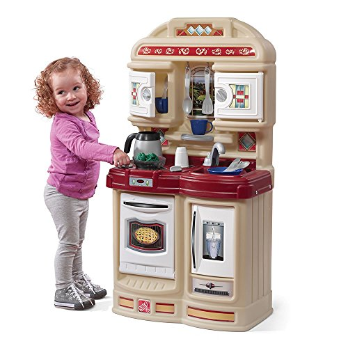 Step2 Cozy Kitchen Playset for Toddlers - Durable Kids