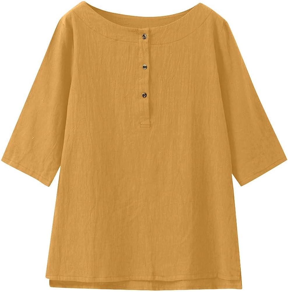 Camisas Mujer Blusa Tops Camisetas Raya Casual Suelto Blusa Top ...