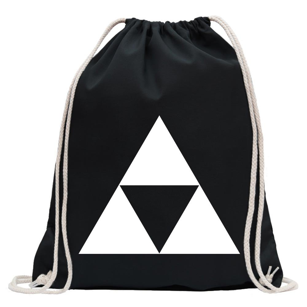Triforce Fun sport Gymbag shopping cotton drawstring