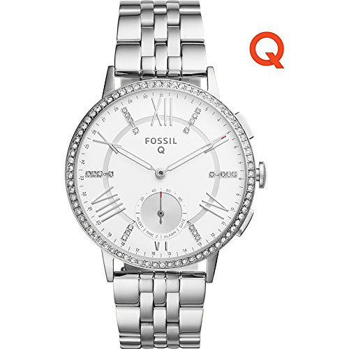 Fossil Q Gazer Stainless Steel Hybrid Smartwatch (Silver)