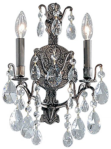 (Classic Lighting 9000 AB C Versailles, Crystal, Sconce/WallBracket, 5