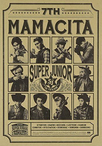 CD : Super Junior - Mamacita B Ver. 7 (Asia - Import)