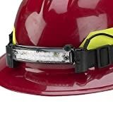 FoxFury 420-006 Command 20 LED Firefighter Helmet Light with 1'' Silicone Strap, 72 Lumens