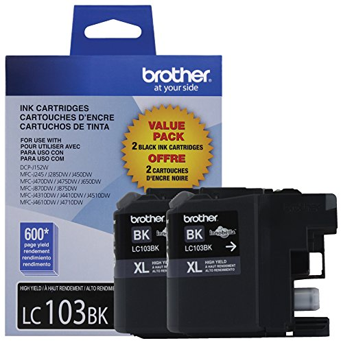 brother printer ink lc103 - 2