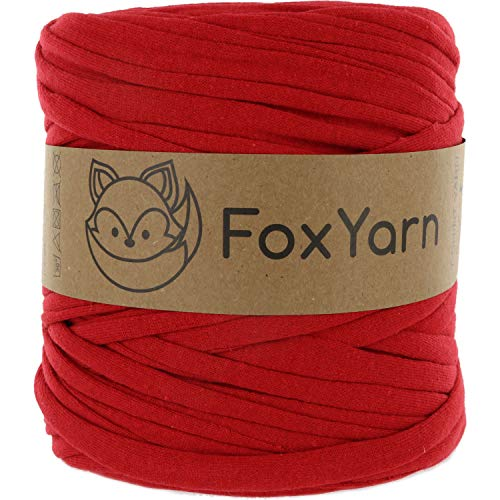 T-Shirt Yarn Cotton Fettuccini Zpagetti Highest Quality ~ 1.4 lbs (700g) and 140 Yards Long (~120 Meter) Sewing Knitting Crochet T Shirt Yarn (Big Yarn)
