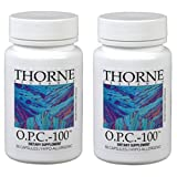 Thorne Research - 2 pack O.P.C.-100 - Grape Seed Phytosome for Antioxidant Support - 60 Vegetarian Capsules