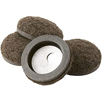 SuperSliders Formed Felt Furniture Movers for Hard Surfaces (4 Piece), 2