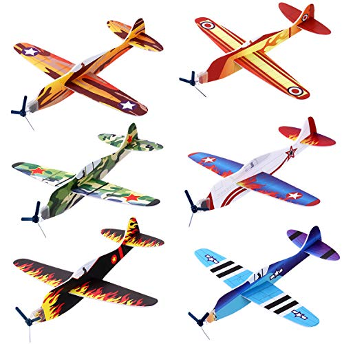 iBaseToy 24 Pack Flying Glider Plane - 8