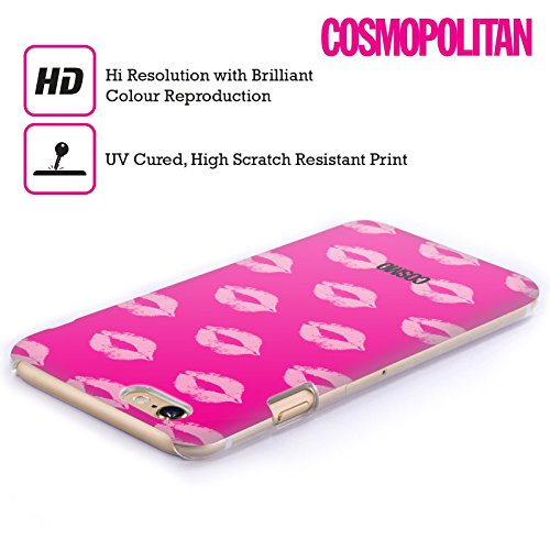 Official Cosmopolitan Pink Kiss Mark Hard Back Case for Apple iPhone 6 Plus / 6s Plus