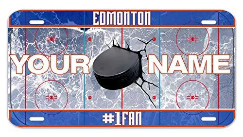 (Bleu Reign Personalized Custom Name Hockey Team Edmonton 12