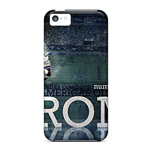 GAwilliam Case Cover For Iphone 5c - Retailer Packaging Dallas Cowboys Protective Case