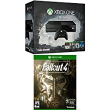 Xbox One 1TB Console - 5 Games Boxing Week Bundle (Rise of the Tomb Raider + Gears of War: Ultimate + Rare Replay + Tomb Raider: Definitive Edition + Ori and the Blind Forest) with Fallout 4