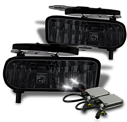 2002-2006 Cadillac Escalade OEM Style Replacement Fog Lights with 6000K HID Conversion Kit - (Cadillac Escalade Conversion)