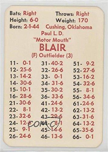 Paul Blair (Baseball Card) 1973 APBA Baseball 1972 Season - [Base] #PABL