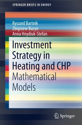Investment Strategy In Heating And Chp  Mathematical Models  Springerbriefs In Energy