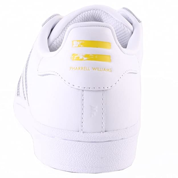 outlet store 9405d b2b17 adidas Superstar Pharrell Supershell - Zapatillas para Hombre, Color Blanco  Amarillo, Talla 44 2 3  Amazon.es  Zapatos y complementos