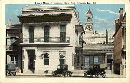 - Young Men's Gymnastic Club New Orleans, Louisiana Original Vintage Postcard