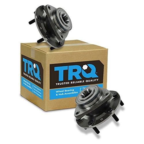 - TRQ Front Wheel Hub & Bearing Left & Right Pair for Hyundai Entourage Kia Sedona