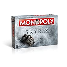 Winning Moves The Elder Scrolls V Skyrim Board Game Monopoly *German Version