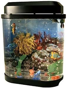 Fake artificial aquarium fish tank home kitchen for Fake artificial aquarium fish tank