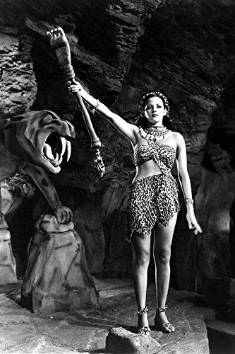 Acquanetta in Tarzan and The Leopard Woman in Leopard Costume 24x18 Poster]()