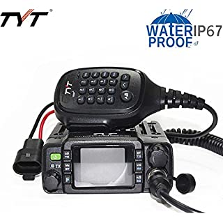 Sale Off TYT TH-8600 Mini Dual Band IP67 Waterproof Mobile Transceiver 136-174MHz/400-480MHz 25W Amateur Car Radio HAM Mobile Radio + USB Programming Cable with CD Driver