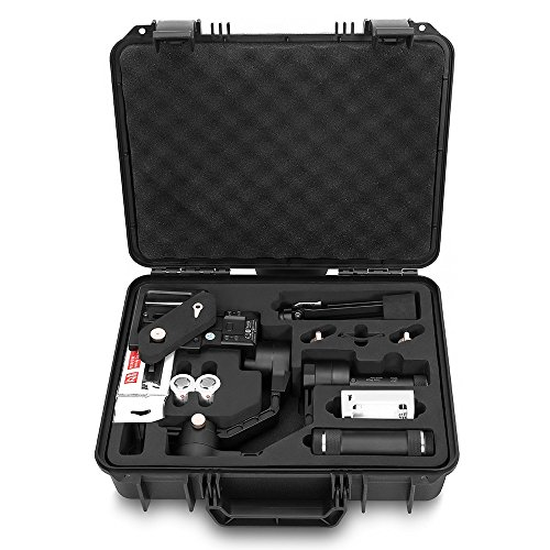 Zhiyun Crane Plus (Crane V2 Upgrade Ver 2018) 3-Axis Handheld Gimbal Stabilizer 5.5lb Payload Timelapse MotionMemory Object Tracking FPV POV Mode Nightlapse f/Sony Panasonic Fujifilm Canon Nikon DSLR