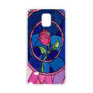 NICKER Unique beautiful pink flower Cell Phone Case for Samsung Galaxy Note4