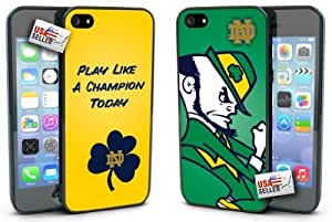 OneDreamCases - Notre Dame Fighting Irish Play like a Champion Today Hard Case TWO PACK For Iphone 6 Plus Phone Case Cover