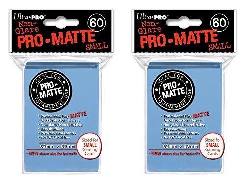 ultra pro light blue sleeves - 3