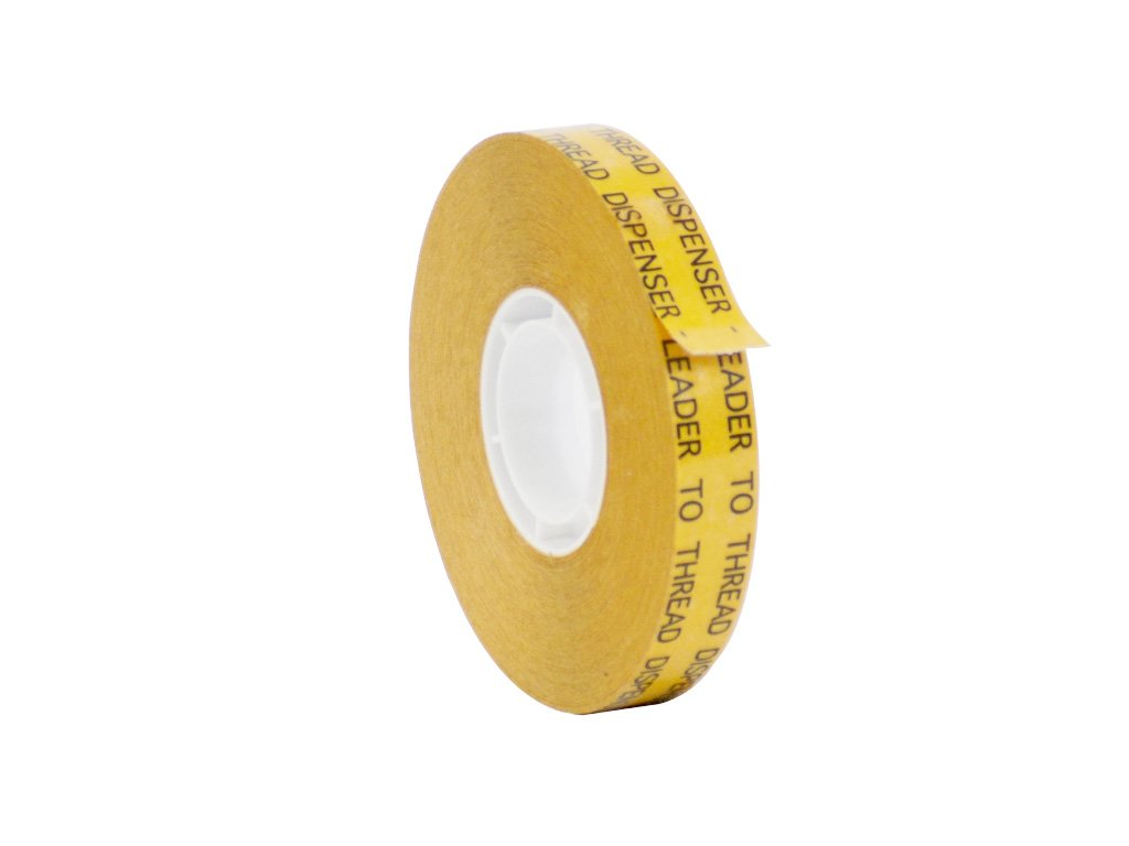 WOD ATG-7502 General Purpose ATG Tape, Adhesive Transfer Tape Glider Refill Rolls Clear Adhesive on Gold Liner (Acid Free and Available in Multiple Sizes): 1/2 in. Wide x 36 yds. (Pack of 72)