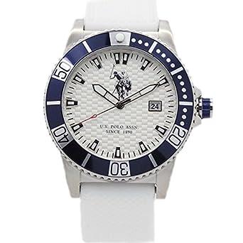 Uhr U.S. Polo Assn. Aspen Herren Silikon Total White usp4390hw