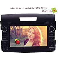 Android 4.4 Capacitive Multi-Touch Screen GPS Map Audio In Dash Car Video Receiver Auto radio BT Audio CD DVD Player Head Unit Stereo For Honda CRV CR-V 2012-2016 PC System RDS Mirroring Can-Bus Box