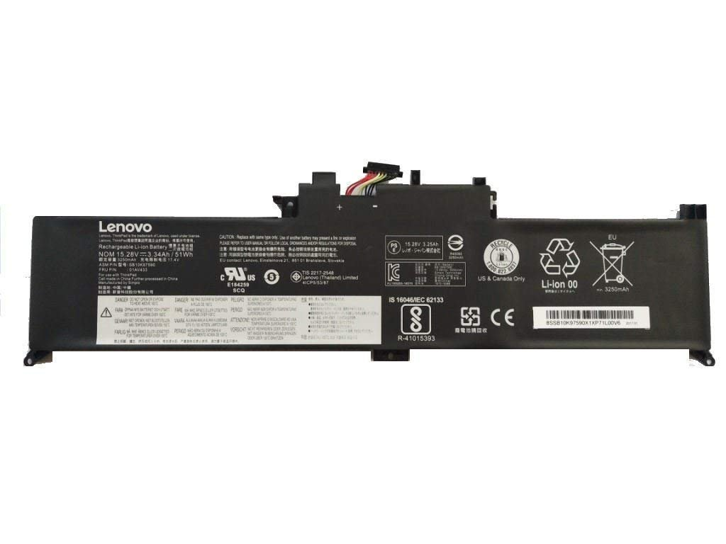 Amazon.com: New Genuine Battery For Lenovo ThinkPad Yoga 370 ...