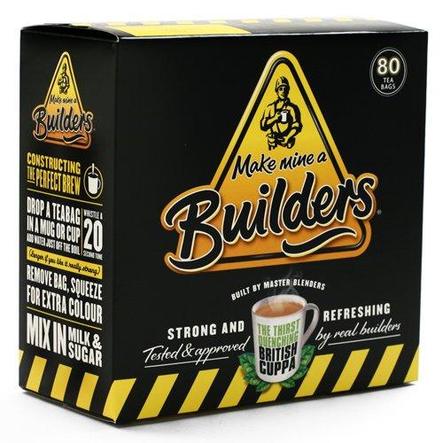 Builders British Tea (8.8 ounce) (Best British Tea Brands)