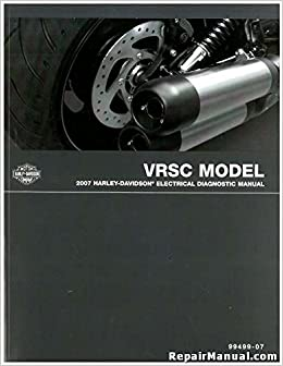 99499-07 2007 Harley Davidson VRSC Motorcycle Electrical ... on