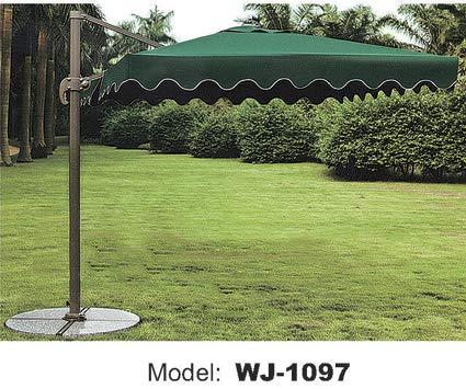 WICKER HUB GC502 Outdoor Umbrella Green