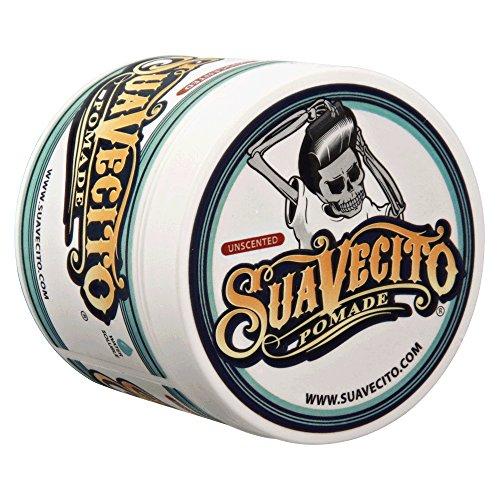 Suavecito Original Unscented Pomade- Medium Hold Styling Pomade for Men (4 oz)