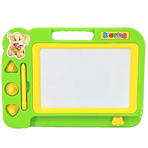 Gotd Kids Colorful Magnetic Writing Painting Drawing Graffiti Board Toy Preschool Tool Green
