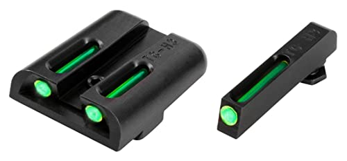 TRUGLO TFO Tritium and Fiber-Optic Handgun Sights for Glock Pistols