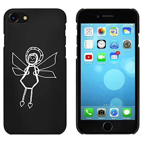 Noir 'Ange de Noël' étui / housse pour iPhone 7 (MC00062957)