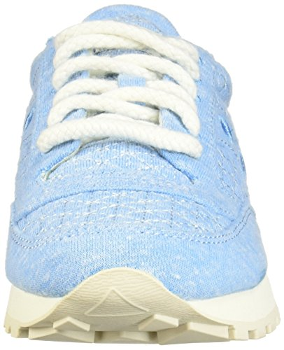 Light Jazz Blue Chaussures Saucony Daim Sneakers Original Baskets en Femme Blu Beige 74qPv7