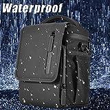 Hisoul for DJI Mavic 2 Pro/Zoom Waterproof All-Round Shoulder Bag Portable Traveling Case Large Storage Shoulder Bag (Black)