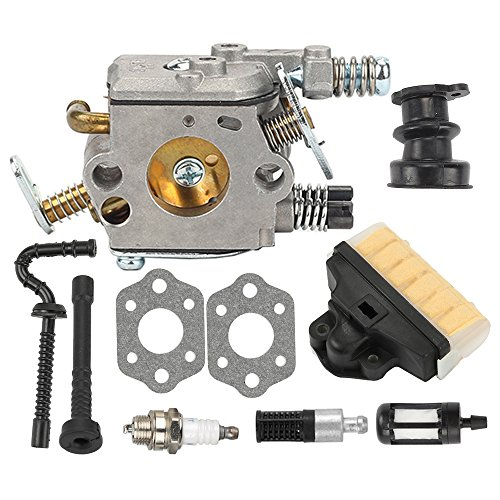 Butom Carburetor with Fuel Oil Filter Line for Zama C1Q-S11E C1Q-S11G STIHL 021 MS210 023 MS230 025 MS250 Chainsaw 1123-120-0603