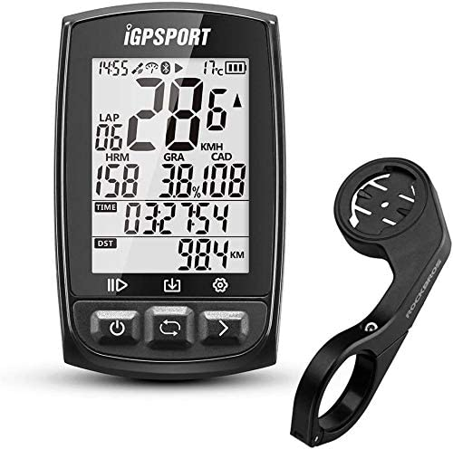 Igpsport Fahrrad Computer Gps Kilometerzähle Kabellos Tacho Ant Ipx7 Igs50e Sport Freizeit