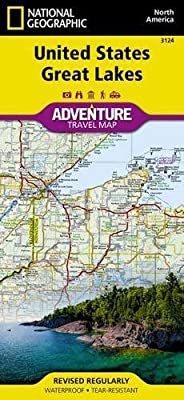 United States, Great Lakes (National Geographic Adventure Map)