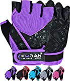 EMRAH Gym Weight Lifting Gloves Women Workout Fitness Ladies Bodybuilding Crossfit Breathable Powerlifting