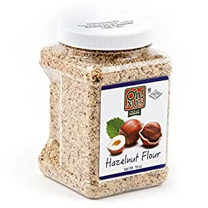 Flours & Meals 1 LB Jars - Oh! Nuts (Ground Hazelnuts 2 Pack)