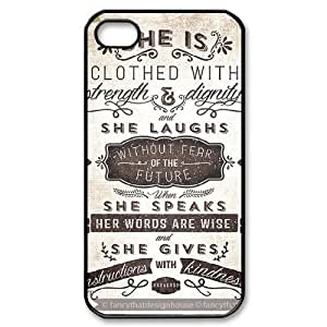 Words To Live By iPhone 4/4s Case Black Yearinspace020367 hjbrhga1544